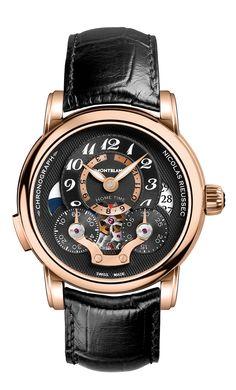 Montblanc the Nicolas Rieussec Chronograph Open Home Time (article/pics http://watchmobile7.com) (1/2)