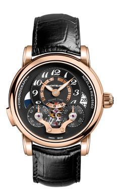 Montblanc the Nicolas Rieussec Chronograph Open Home Time (article/pics http://watchmobile7.com) (1/2)