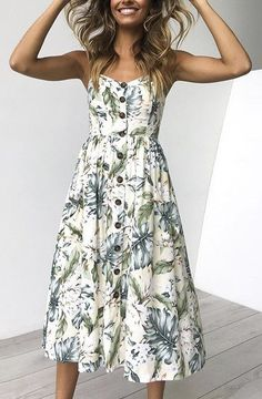 Summer Strap Print Floral Long Boho Bohemian Beach Dress 2018 Women Sundress Sexy Casual Loose Plus Size Robe Femme Maxi Dresses - Light yello Floral Beach Dresses, Short Beach Dresses, Summer Dresses For Women, Flower Dresses, Sexy Dresses, Casual Dresses, Midi Dresses, Dress Summer, Long Dresses