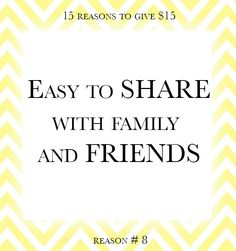15 reasons to give $15 towards a mobile app! Reason number 8.  Go to www.back2basicsmag.com to support.