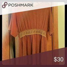 Selling this Beautiful burnt orange shirt on Poshmark! My username is: bb1416. #shopmycloset #poshmark #fashion #shopping #style #forsale #Ya Los Angeles #Tops