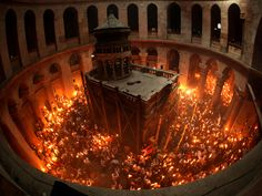 Miracle of he Holy Fire, Jerusalem