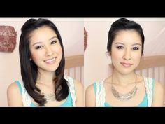 Hair How to: Cute & Easy Victory Roll!