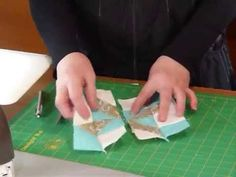 How to make a Clay's Choice block - Quilting Tips  Techniques 144