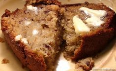 Moist Banana Bread Recipe – The Best Banana Bread Ever.  So far this is the best batch I'v made yet. I even did half the sugar.