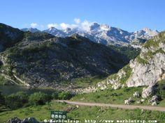 Lake Enol, Peaks of Europe, Asturias.