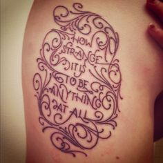 Would it be possible to blend the existing tattoo into a background, similar to this? I like it because it is still legible, but not obviously text from far away.