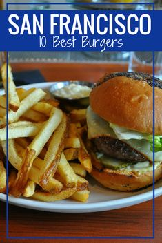So many amazing burgers.so little time! Check out my list of the 10 best burgers in San Francisco. San Francisco Neighborhoods, San Francisco Restaurants, California Getaways, California Vacation, San Francisco Food, San Francisco Travel, Burger Restaurant, Restaurant Recipes, California With Kids