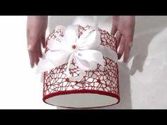 Шляпная коробка для букета из конфет своими руками - YouTube