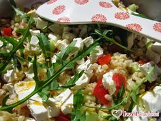 Ízzel-lélekkel készült receptek: Könnyű bulgursaláta Grains, Tacos, Rice, Ethnic Recipes, Bulgur, Seeds, Laughter, Jim Rice, Korn