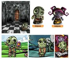 mobile game character design - Google Search