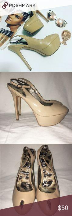 Sam Edelman Nude Pumps In great condition Sam Edelman Shoes Heels