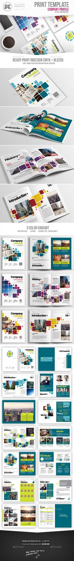 #Company Profile - Corporate #Brochures Download here: https://graphicriver.net/item/company-profile/17354491?ref=alena994