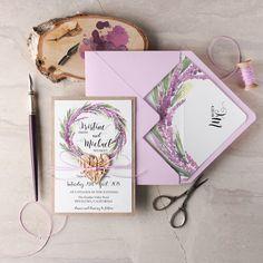 WEDDING INVITATIONS watercolor