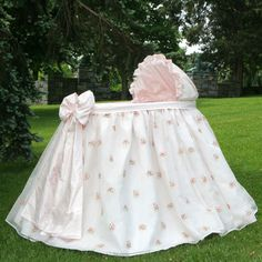 (Limited Supply) Click Image Above: Belle Bassinet With Linens