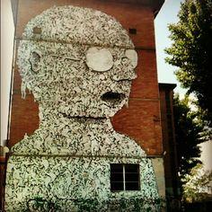 Bologna Street Art - Instagram by @nomadbiba