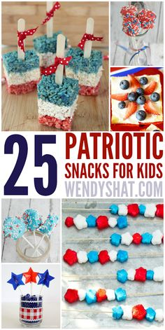 Patriotic Snacks for Kids