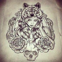 ce dessin en tatouage ! *___*