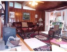 Living Room at 33 Woodland Estate Road, Semour Lake waterfront near Campbellford, Ontario.  http://www.trenton-real-estate.ca