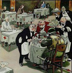 Political Art, Political Cartoons, Political Reform, Satire, Satirical Illustrations, Meaningful Pictures, Deep Art, Politics, World