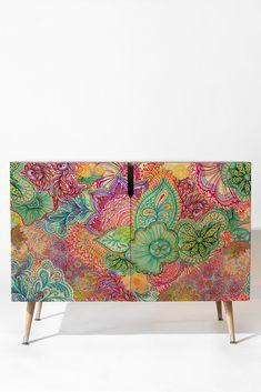 Stephanie Corfee Flourish Allover Credenza | DENY Designs Home Accessories