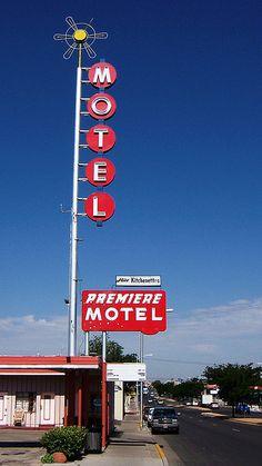 Premiere Motel, Route 66 - Albuquerque, New Mexico