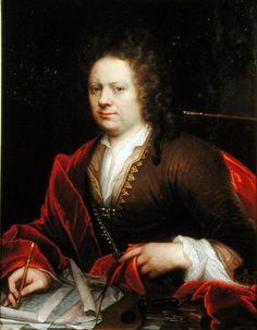 Portrait of an Artist by Godfried Schalcken