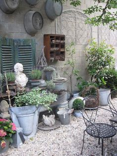 Image result for shabby chic gardens