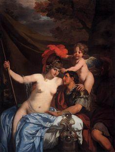 Mars and Venus-Gerard de Lairesse