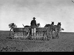 1917 Horse drawn Sunshine Seed Drill
