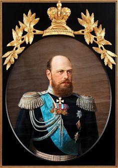 Portrait of Emperor Alexander III of Russia by Nikolay Shilder