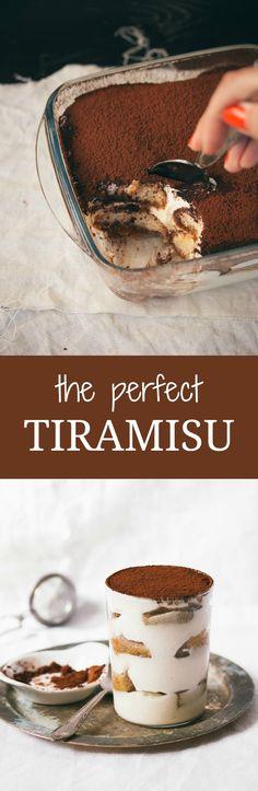 The Perfect Tiramisu | prettysimplesweet.com