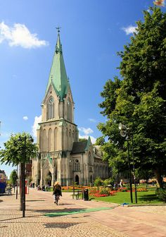 Kristiansand Cathedral, Norway, July 18, 2010 | Flickr - Photo Sharing!