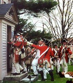 Battle of Menotomy (Lexington Alarm 1775) ~ Samuel Fowler