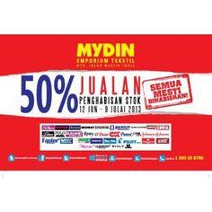 Mydin Textile Emporium Clearance Sale - Jalan Masjid India, K.L