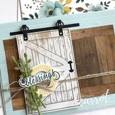 nutmeg creations: Crafty Carrot Co Blog Hop with Barn Door