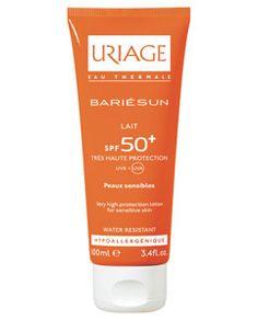 Leche con Protector solar SPF 50+ para pieles sensibles, absorción casi instantánea, efecto matificante, una maravilla!!