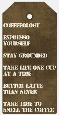 Coffeeisms