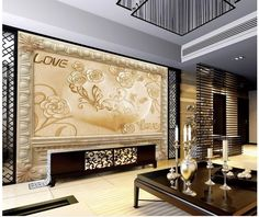 ==> [Free Shipping] Buy Best 3D Sandstone Relief TV Background Wall Flower Relief Background Wall Paintings window mural wallpaper Home Decoration Online with LOWEST Price | 32781721922