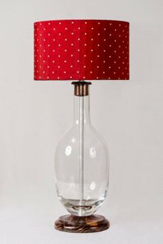 covert your old vases into stunning lampbase