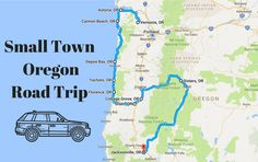 Take an unforgettable road trip through some of Oregon's loveliest small towns.