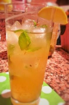 """Dr. Oz weight loss""""Weightorade""""  Directions:   In a large pitcher, combine:   8 cups of brewed green tea  1 tangerine, sliced  A handful of mint leaves  Stir this delicious concoction up at night so all the flavors fuse together. Drink 1 pitcher daily for maximum metabolism-boosting results."""