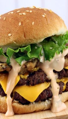 Fried Pickle Double Cheeseburgers