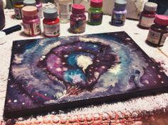 #art #paskevicius #nebulosa #galaxy #painting