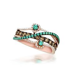 Love the colors on this Le Vian ring.  Marshall Jewelry