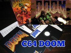 Commodore 64►DOOM GamePlay oO ;) Tech, Retro, Youtube, Retro Illustration, Technology, Youtubers, Youtube Movies