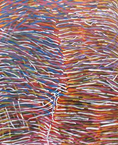 Molly Pwerle   acrylic on linen  150 x 180cm