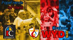 CatholicTV will broadcast the major events from Poland the week of July 26-31. Tune in to World Youth Day events and Masses, meetings and moments from Pope Francis' visit.The Knights of Columbus will host Mercy Centre, the international English-language catechetical and youth festival site, at World Youth Day and CatholicTV will broadcast events from there as well.