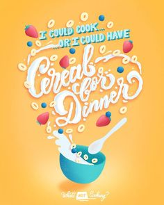 A hand lettering and digital food illustration series by Belinda Kou (who does not like to cook). Lettering Design, Hand Lettering, Lettering Ideas, Cereal Packaging, Different Alphabets, Contour Drawing, Bakery Logo, Food Packaging Design, Passion Project