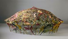 Ignacio Canales Aracil Crafts Delicate Scluptures Out Of Dried Flowers